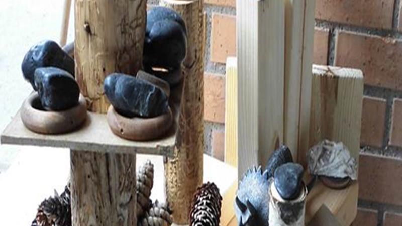 Stenkonstverk på Kremima