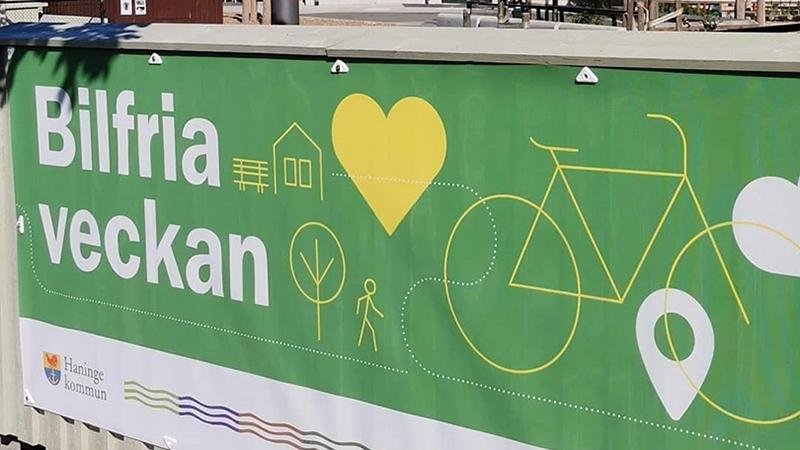 Banner för Bilfria veckan